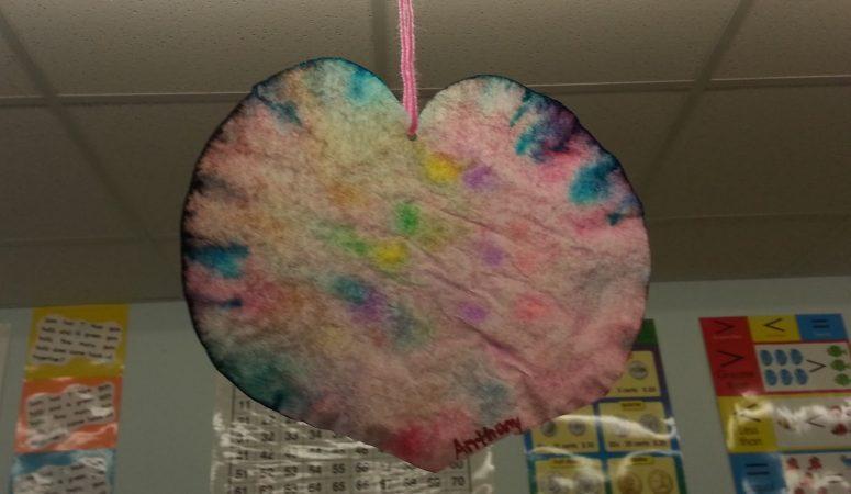 Easy Peasy Valentine's Craft