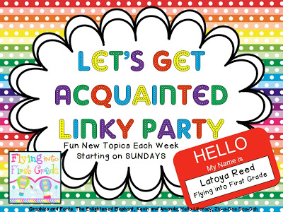 Let's Get Aquainted Linky {Nouns}