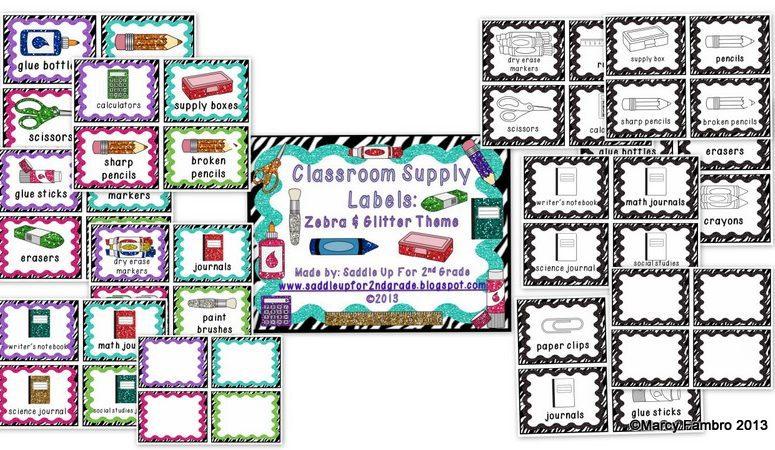 Zebra and Glitter Decor!