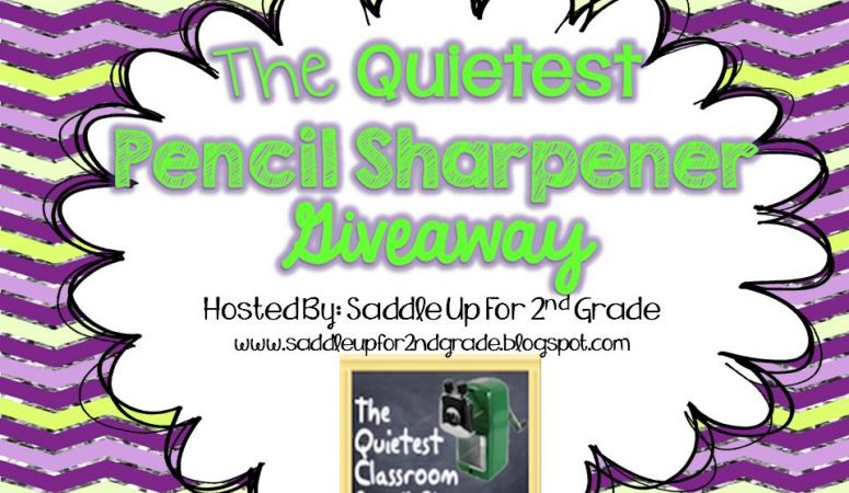 The Quiest Pencil Sharpner GIVEAWAY!