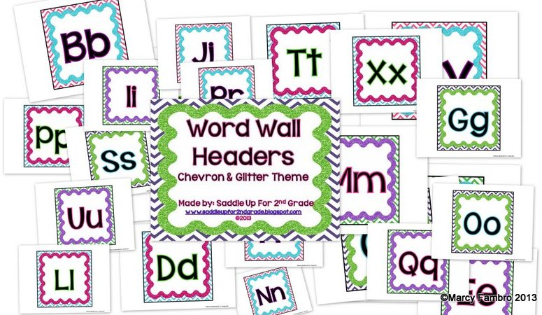 World Wall Headers, Alphabet Lines, Number Posters and More!!!