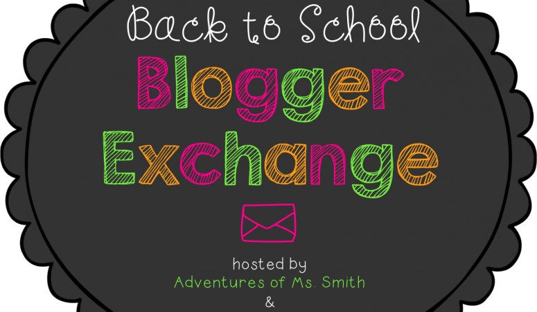 Back to School Blogger Exchange
