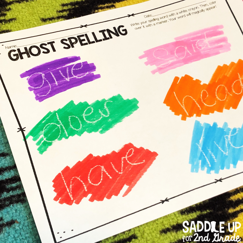 Spelling practice doesn't have to be boring! This post is full of ideas and activities to make work word and spelling practice enjoyable! Come check it out!