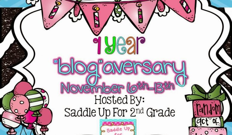 1 YEAR BLOGAVERSARY AND A GIVEAWAY TOO!!!