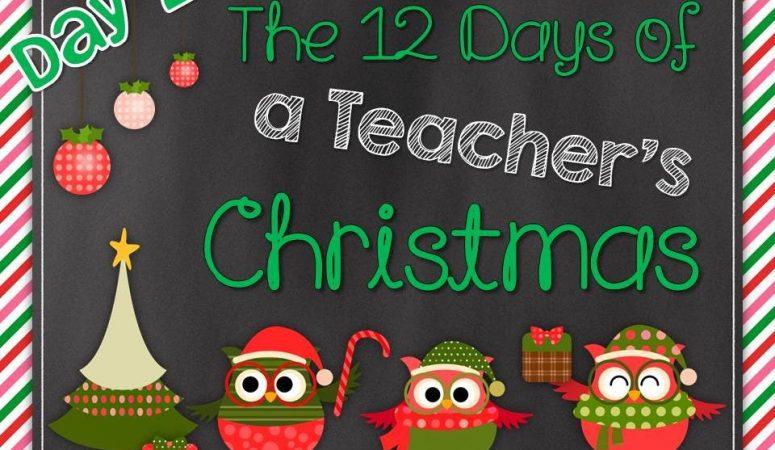 12 Days of a Teacher Christmas Blog Hop