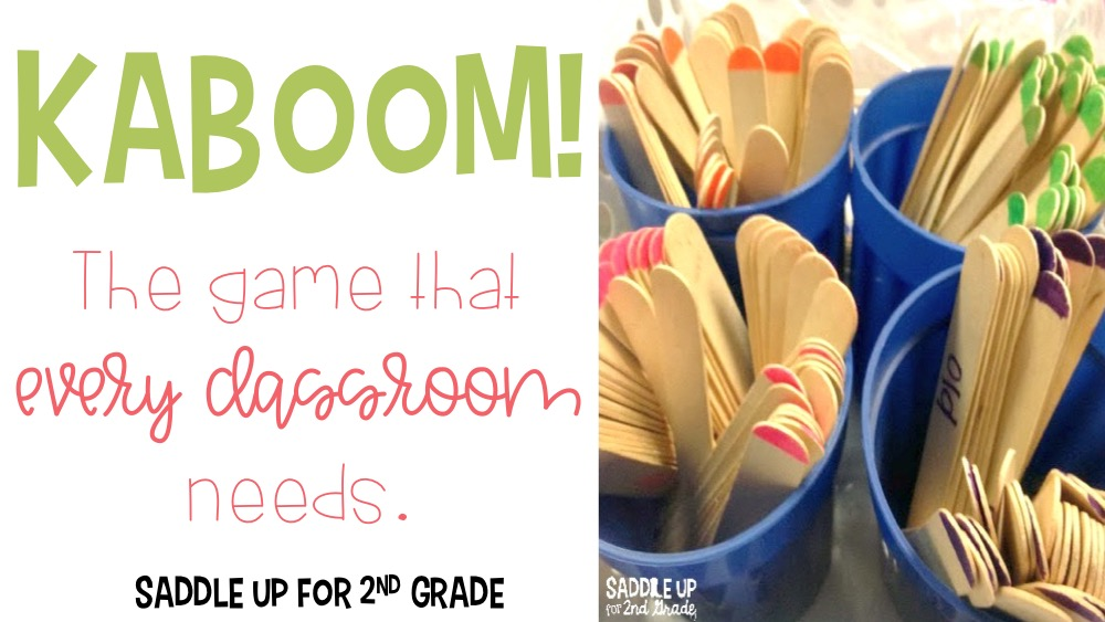 Kaboom Classroom Game