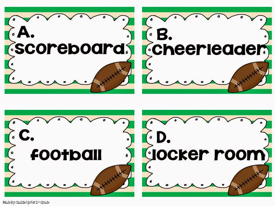 Let's Tackle Noun Task Cards