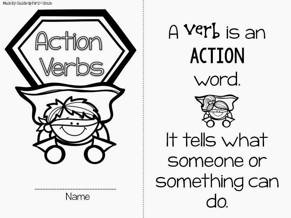 Verb Action Packed Booklet