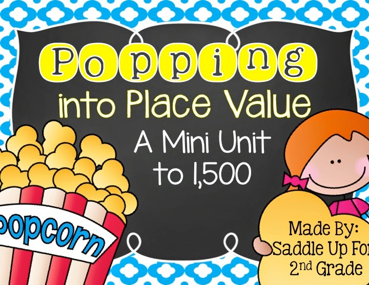 Popping into Place Value by Saddle Up For 2nd Grade