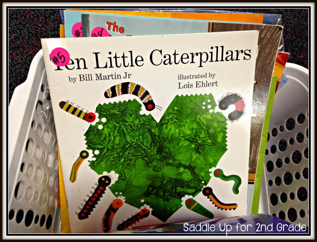 Listening Center Organization  by Saddle Up For 2nd Grade