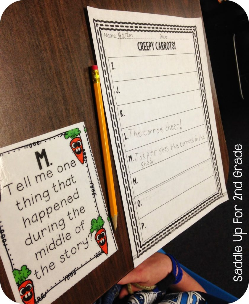 Creepy Carrots is a fun story with a great message. This mini unit includes comprehension and vocabulary practice to go along with the story.