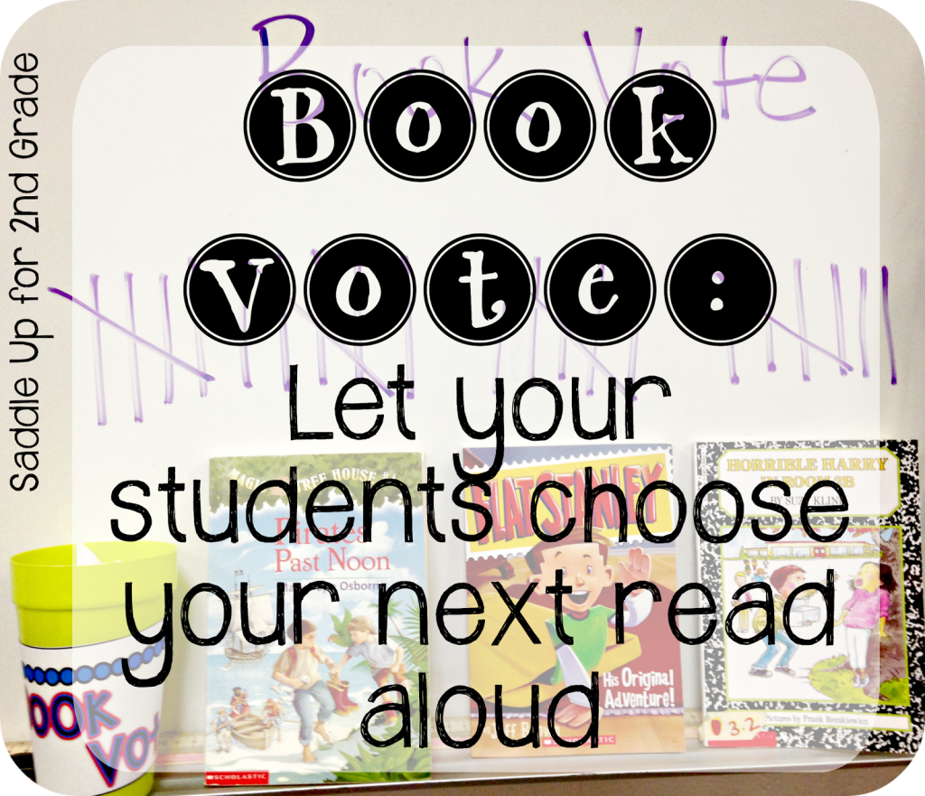 Book Vote FREEBIE by Saddle Up For 2nd Grade