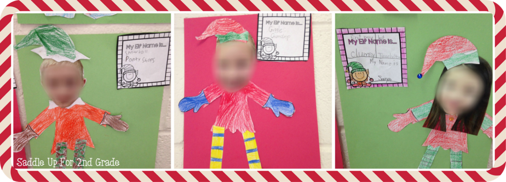 What's Your Elf Name FREEBIE by Saddle Up For Do you have a classroom elf? This blog post is full of ideas on how you can incorporate one info your classroom. It includes elf ideas, adjective writing, and a fun activity that you can grab for FREE! Your class will love it for sure!  Grade