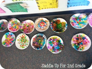 Tye Dye Valentine Heart Craft by Saddle Up For 2nd Grade