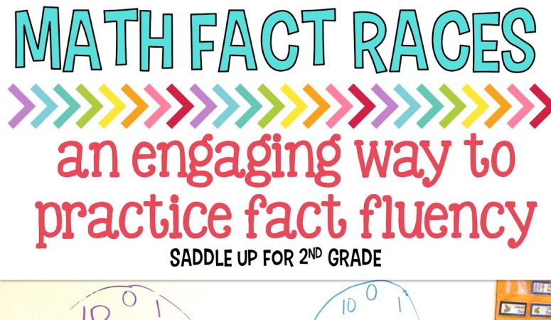 Math Fact Fluency Races