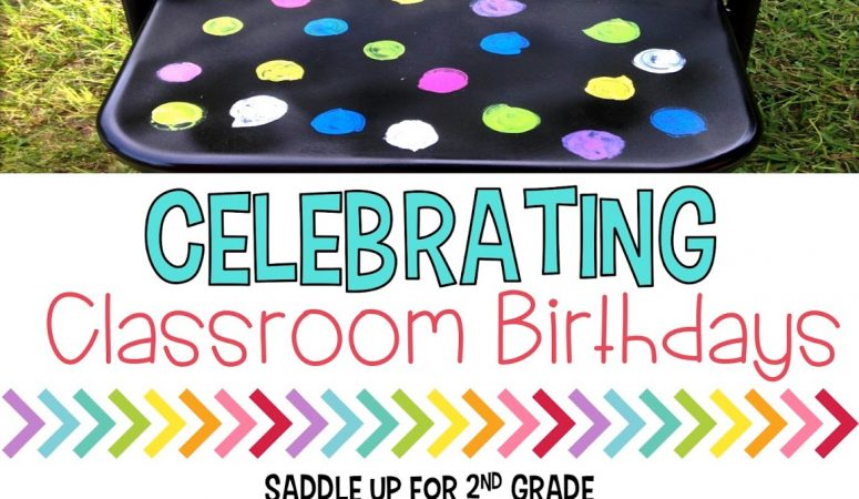 Celebrating Classroom Birthdays