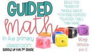Guided Math Breakdown
