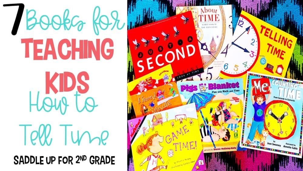 7 books for teaching kids how to tell time