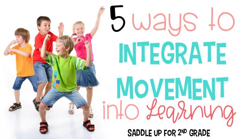 5 Ways to Integrate Movement into Learning