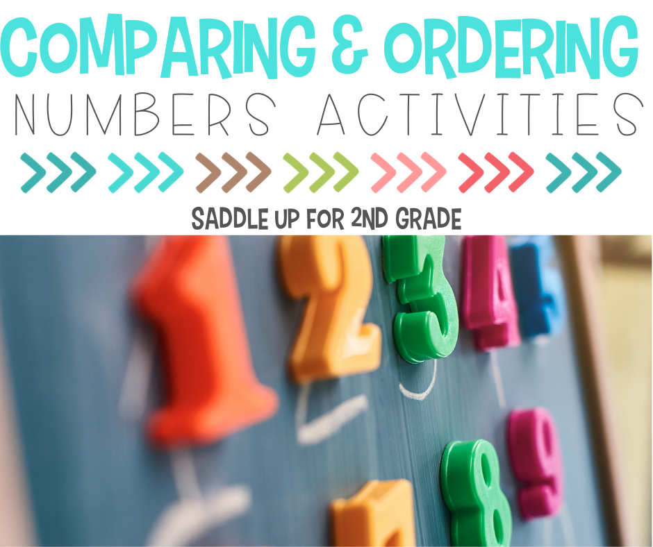 comparing and ordering numbers activities