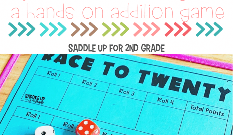 Addition Game: Race to Twenty