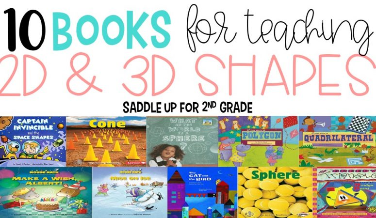 8 Books for Teaching Shapes