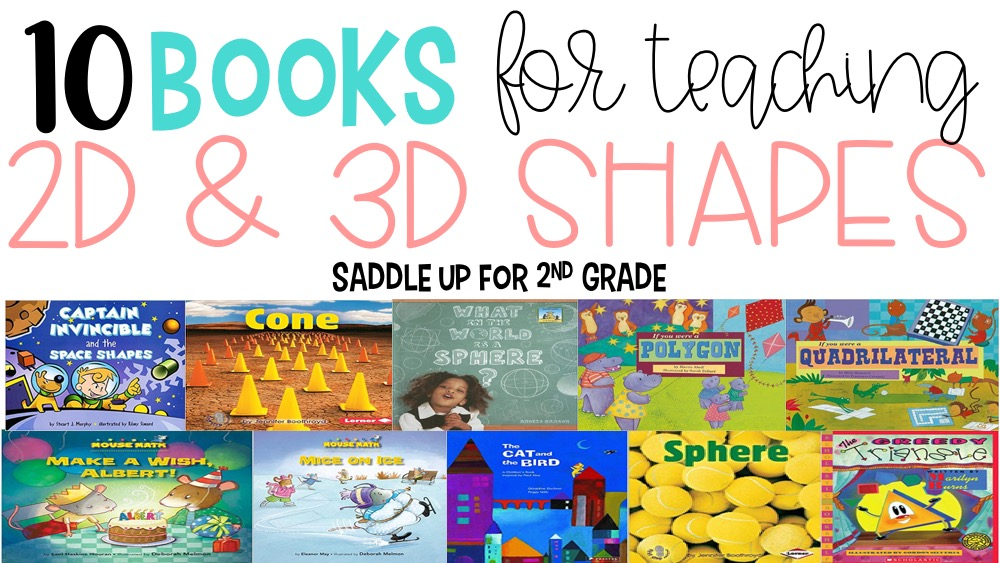 10 books for teaching geometry and shapes.