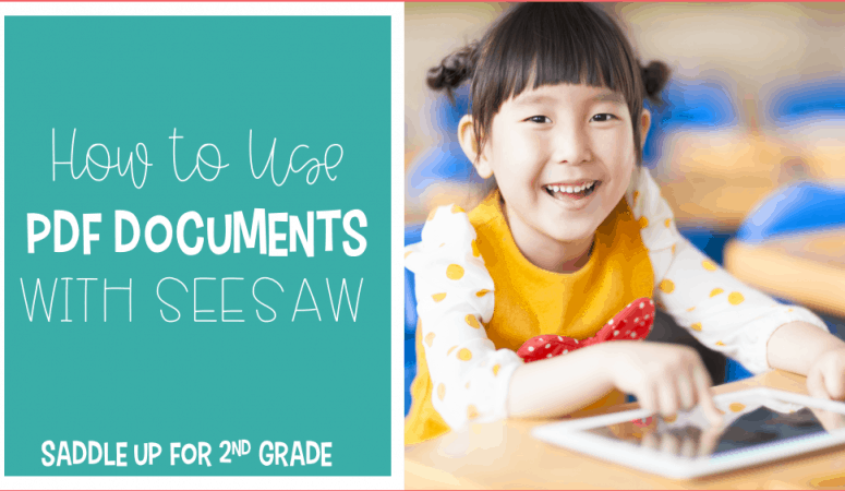 How to Use PDF Documents in SeeSaw
