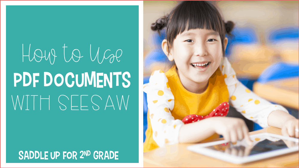How to Use PDF Documents with SeeSaw
