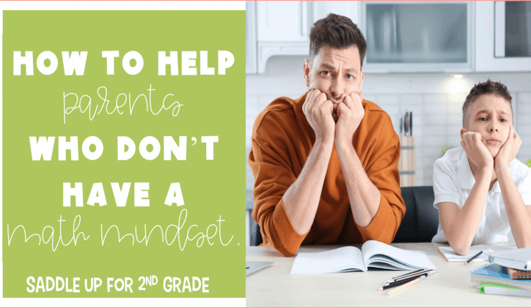 How to Help Parents Who Don't Have a Math Mindset