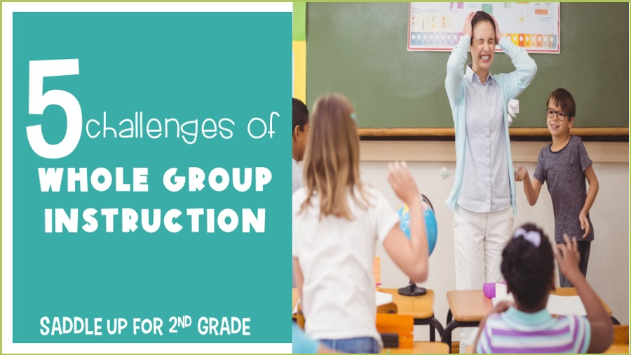 challenges of whole group instruction