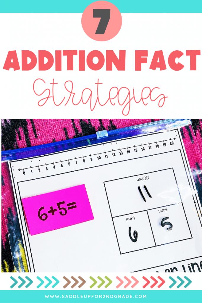 seven addition fact strategies
