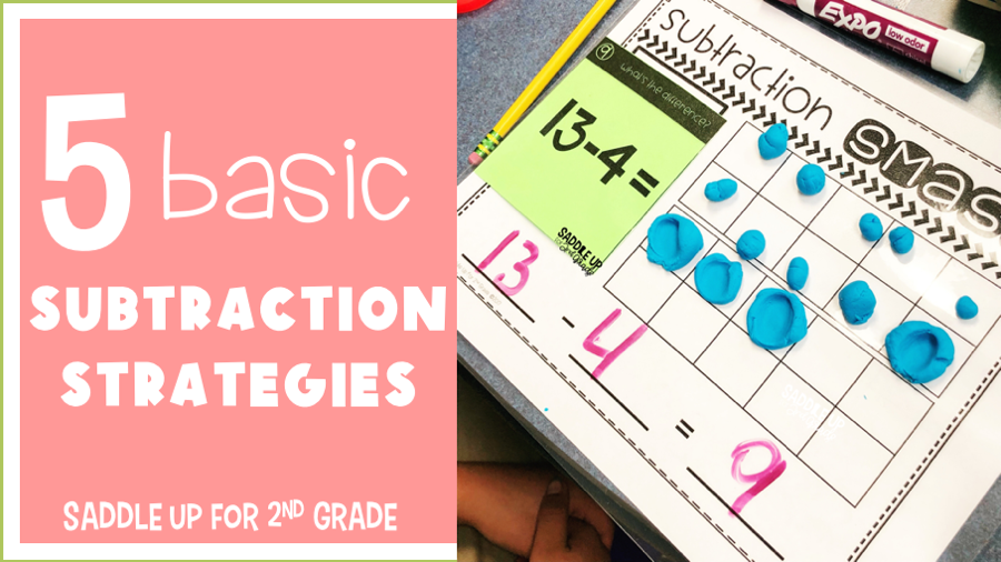 basic subtraction strategies for elementary students