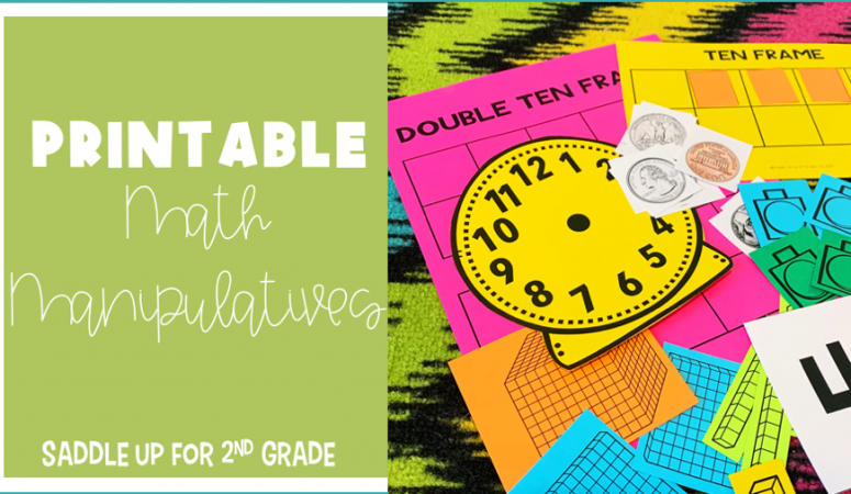 Math Manipulatives for Distance Learning!