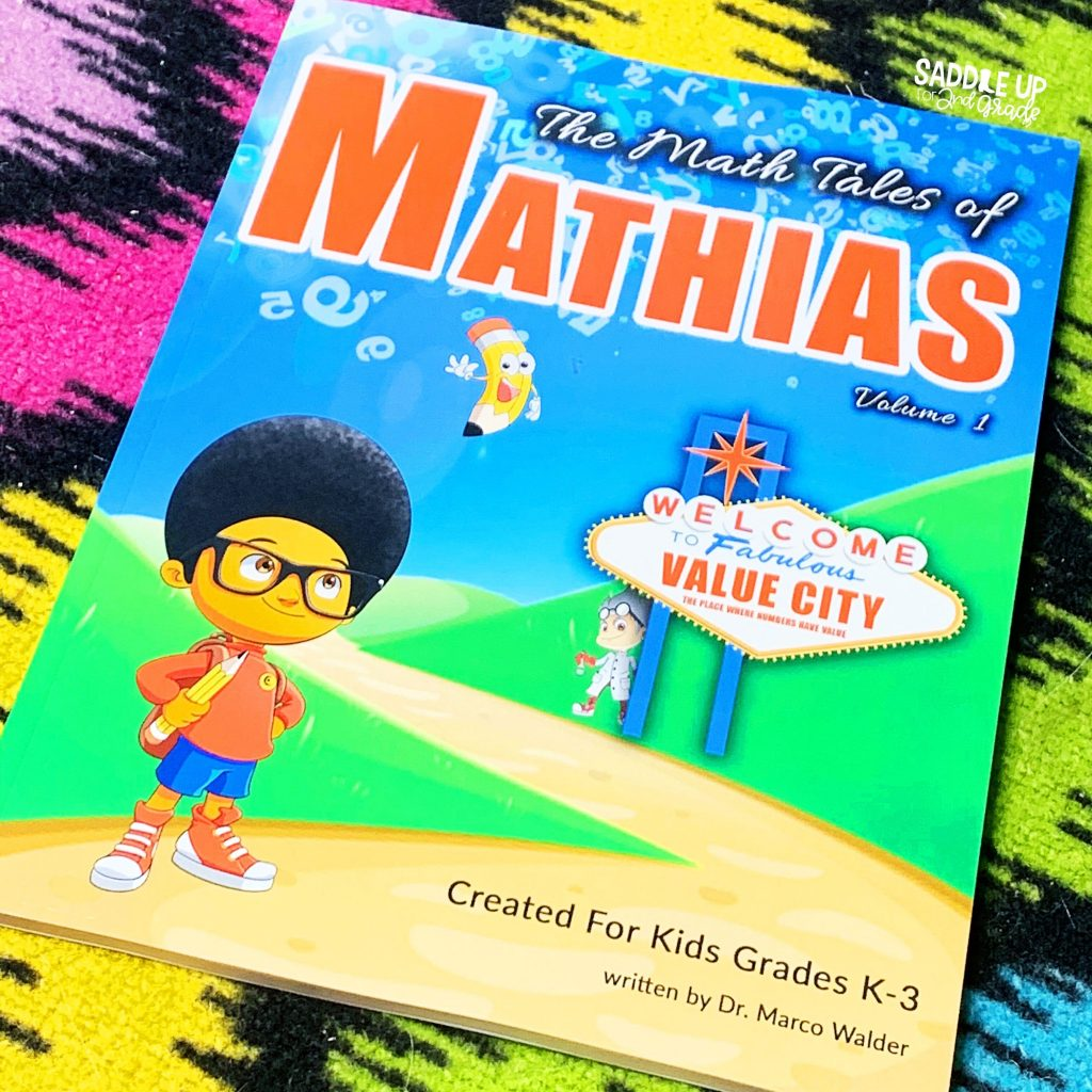The Math Tales of Mathias Place Value Book